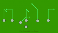 Quick hit is a 7 on 7 flag football play