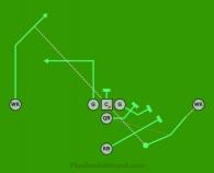Double Pass 7 On 7 Flag Football Plays